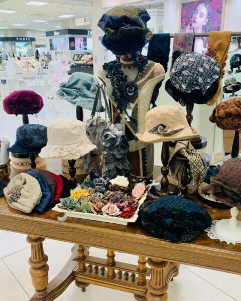 静岡伊勢丹POP UP SHOP/2021'秋冬帽子DecorationDesire