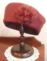 N様作・・・ツイル手縫いのベレー帽