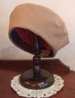 N様作・・・フラノ手縫いのベレー帽