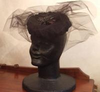 12月帽子教室・・・Nちゃんの完成した帽子