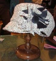 1月帽子教室・・・N様製作のキャスケット