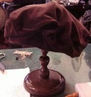 1月帽子教室・・・Nちゃん製作のベレー
