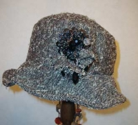 2008年2月帽子教室・・・クロッシェ・・・サンプル