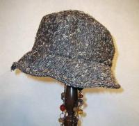2008年2月帽子教室・・・クロッシェ・・・飾り無しサンプル