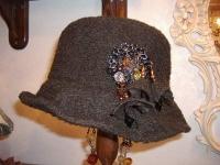 2月帽子教室・・・N様の手縫い帽子