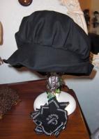 5月帽子教室サンプル・・・コサージュは取り外せます