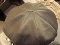 6月帽子教室サンプル・・・縦接ぎマッシュハット