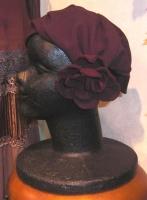 11月の帽子教室 Nさん製作/カチューシャターバン