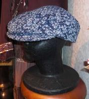 11月の帽子教室 Eさん製作/ハンチング