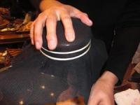 12月帽子教室/Nさん型入れ