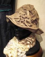 1月帽子教室サンプル/風船接ぎの帽子
