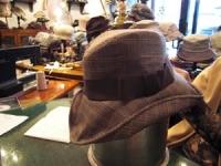 2009年2月帽子教室/N様作マニッシュ