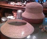 4月帽子教室サンプル/ブレード製作2