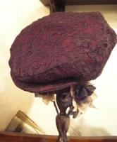 Nさん、5月帽子教室ハンチング完成