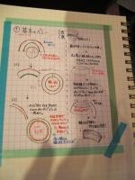 帽子教室/Kさんのノート