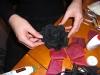 2009年12月帽子教室/NSさんコサージュ