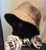 2009年12月帽子教室/KSさん作クロッシェ