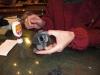 2009年12月帽子教室/KSさんコサージュ製作中