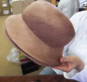 帽子教室Decoration Desire/Wさんのクロッシェ