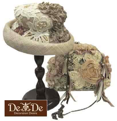 2012SS/DeDe帽子とバッグ