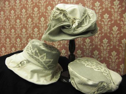 ベルギー/ボビンレースの帽子/DeDe