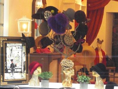 パリの帽子屋