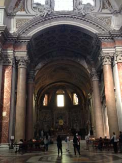 Chiesa di Santa Maria degli Angeli(ミケランジェロの教会)