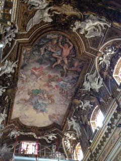 Chiesa di Santa Maria della Victoria(バロック極地の教会)