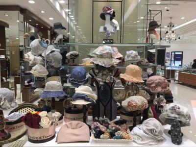 博多大丸/2月期間限定出店/春夏の帽子Decoration Desire