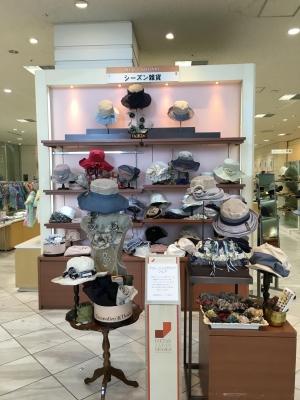 立川伊勢丹/2016SSの帽子Decoration Desire
