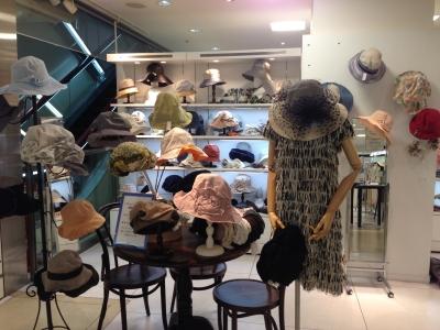 遠鉄百貨店/Decoration Desire2016年初夏の帽子