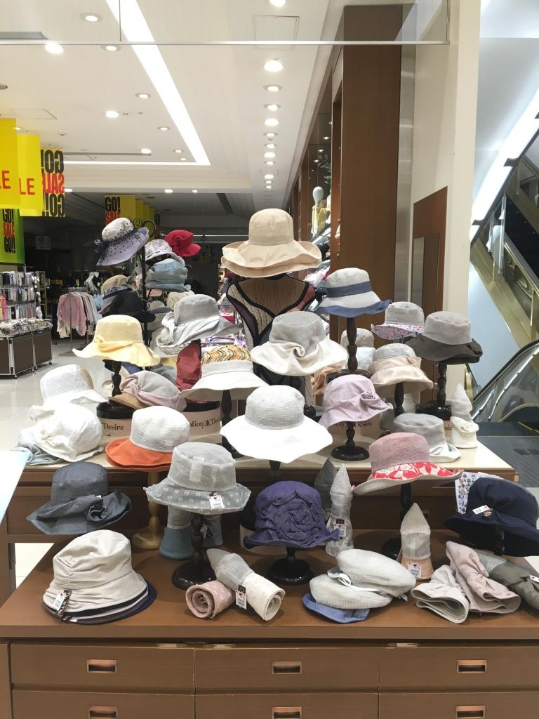 博多大丸/Decoration Desire2018年夏の帽子1